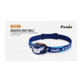 FRONTAL LED FENIX HL26R 450 AZUL