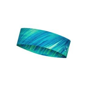 SLIM HEADBAND BUFF COOLNET UV PIXELINE LIME