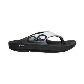 OOFOS RECOVERY OORIGINAL SPORT BLACK CLOUD