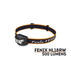 FRONTAL FÉNIX HL18 500L NEGRO